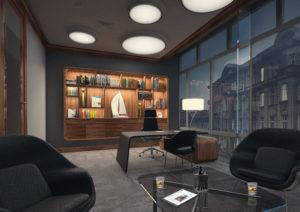 Projektowanie i nietypowe aranżacje wnętrz nowoczesnych jednorodzinnych domów - przykład naszej aranżacji
