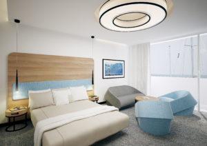 Aranżacja i projektowanie- wnętrz biurowych - przykładowe wnętrze