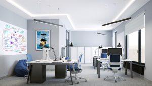 Przykładowe wnętrz biurowe
